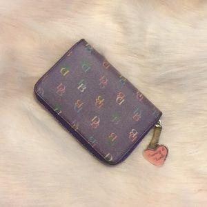 Dooney & Bourke zip around wallet